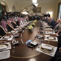 Niente donne per il vertice fra gli Stati Uniti e l'Arabia saudita