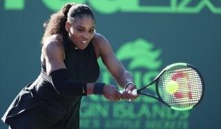Tennis, Miami: Serena Williams subito fuori, out anche la Giorgi