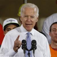 """Trump contro Biden: """"Se mi minacci ti metto ko"""""""