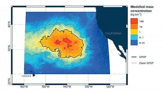 """Pacifico: l'isola di plastica è sempre più enorme. """"Una massa di spazzatura grande tre volte la Francia"""""""