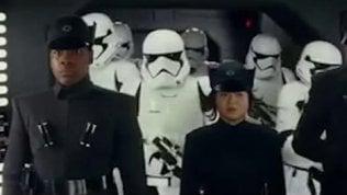 Star Wars, la scena tagliata con i principi Harry e William