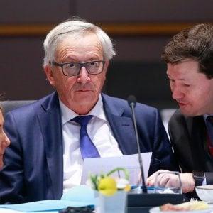 Il presidente della Commissione Europea Jean-Claude Juncker