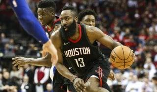 Basket, Nba: Harden-show all'overtime, Houston da record con Detroit