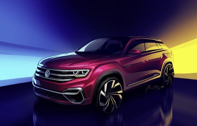 Volkswagen, un nuovo Suv per gli USA