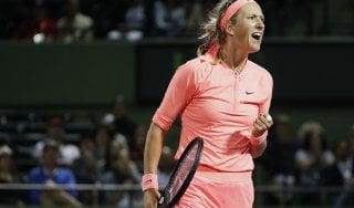 Tennis, Miami: Garcia out, avanti Stephens e Azarenka