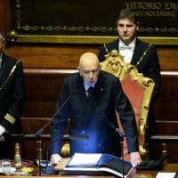 Apre il Parlamento, non c'è accordo sulle presidenze. Napolitano:
