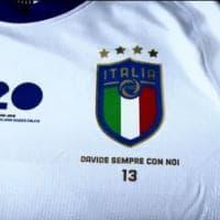 """Italia-Argentina, azzurri in campo con la maglia per Astori: """"Davide sempre con noi"""""""