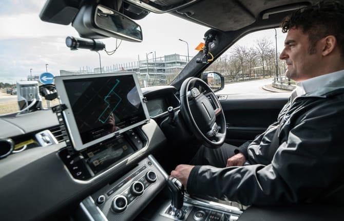 Jaguar Land Rover, addio stress da parcheggio