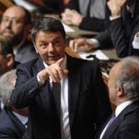 Renzi, primo giorno in Senato parlando di tennis e cinema