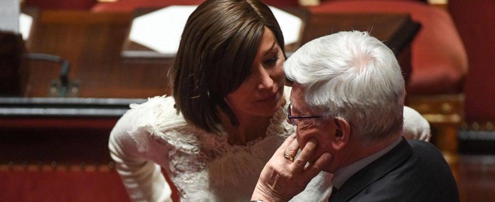 Presidente senato centrodestra spaccato lega votiamo for Senato italia