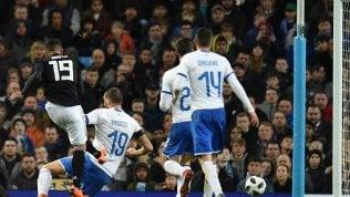 La nuova Italia parte con un ko:Argentina senza Messi vince 2-0
