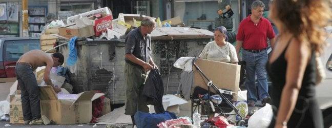 Cgia: in 18 milioni a rischio povertà. Al Sud quasi uno su due