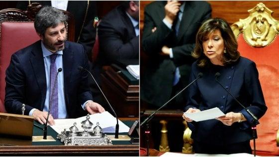 Parlamento, accordo M5s-centrodestra: Fico eletto presidente della Camera, al Senato c'è Casellati