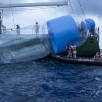 Mediterraneo, in un chilometro cubo centinaia di chili plastica