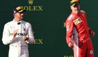 """F1, Gp d'Australia, mea culpa di Hamilton: """"Dobbiamo studiare meglio le strategie"""""""