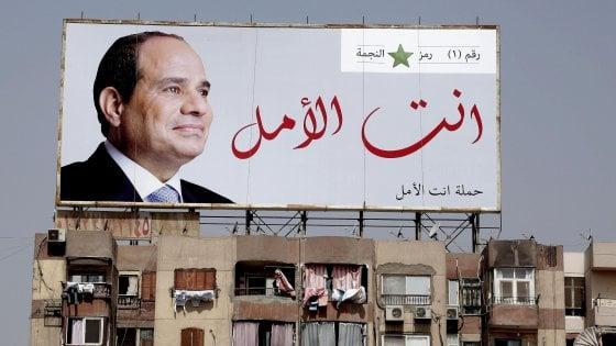 Egitto al voto per le presidenziali: scontata la riconferma di Al-Sisi