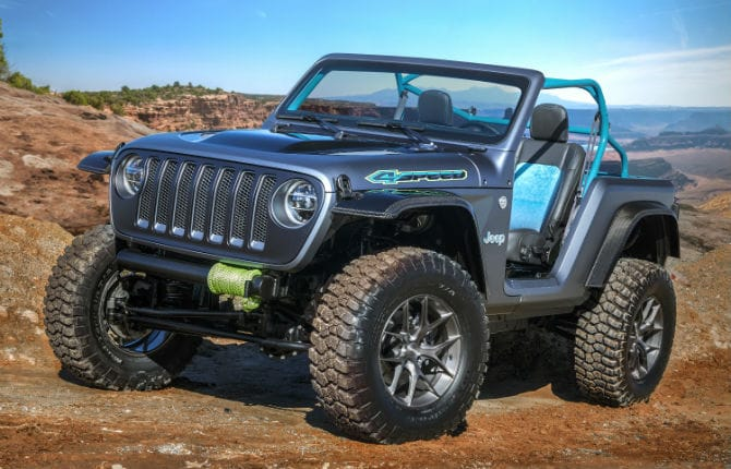 Sette nuove concept per l'Easter Jeep Safari
