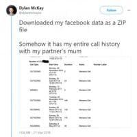Facebook ha registrato per anni sms e chiamate su Android