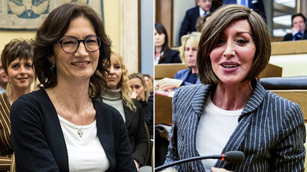 Capigruppo forza italia gelmini e bernini per camera e for Forza italia deputati