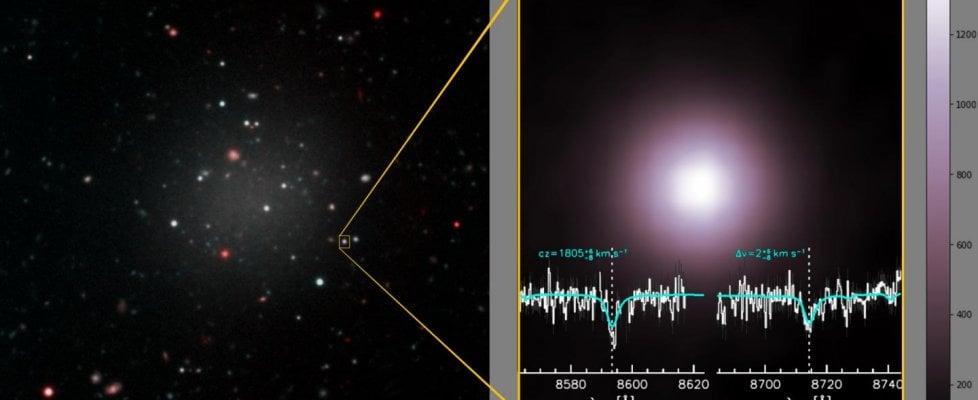 La galassia impossibile: non ha materia oscura