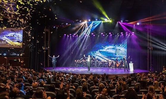 La prima volta della Symphony of the Sea, la cruiser del futuro