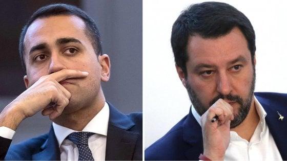 """Governo, Di Maio: """"Solo il Pd si sottrae a confronto"""". Salvini: """"Noi non siamo subalterni a nessuno"""""""