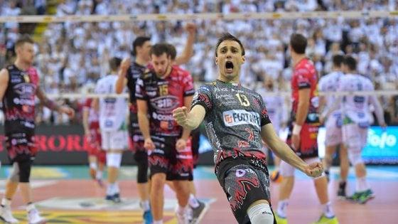 Volley, semifinali scudetto: Perugia fa suo il primo round con Trento