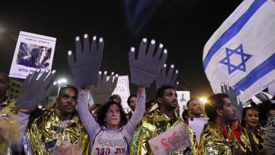 """Intesa Israele-Onu: oltre 16 mila migranti in Occidente, """"anche in Italia"""". Farnesina: """"Non c'è alcun accordo"""""""