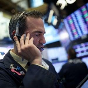 Wall Street in recupero, Borse europee in calo