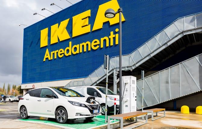 Nissan e IKEA, partnership elettrica