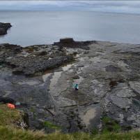 L'isola dei dinosauri: in Scozia orme di 170 milioni di anni fa