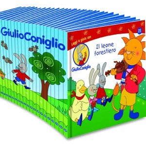 Fenomeno 'GiulioConiglio', il cartoon che piace ai più piccoli protagonista di una collana di libri