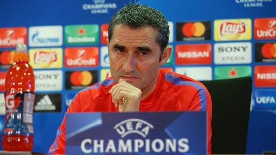 """Champions, Valverde avverte il Barcellona: """"Essere favoriti non ci fa vincere"""""""