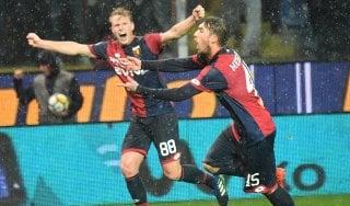 Genoa-Cagliari 2-1: perla di Medeiros, salvezza in tasca per i liguri