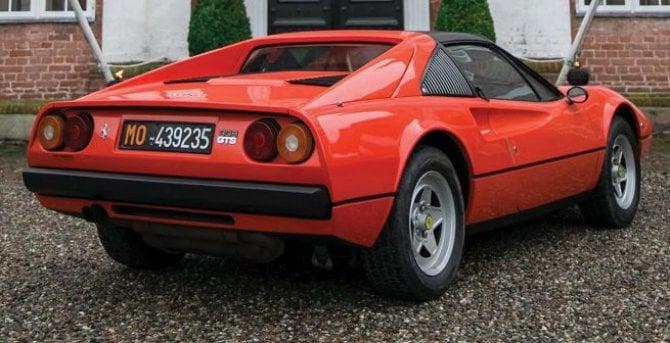 La Ferrari 308 GTS di Gilles Villeneuve