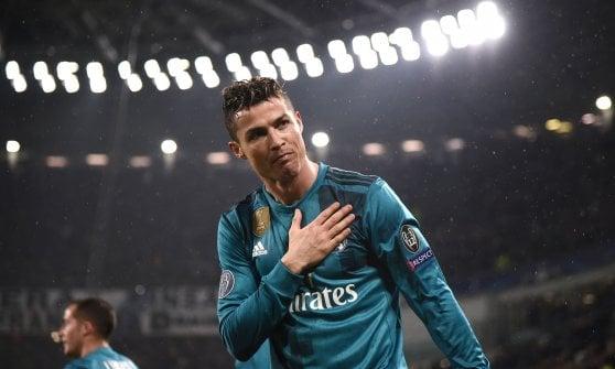 A che altezza ha segnato in rovesciata Ronaldo?