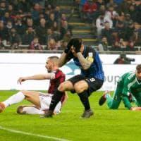 Milan-Inter 0-0: Icardi spreca l'impossibile