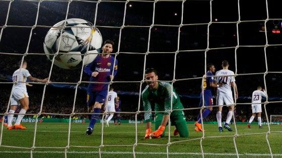 Barcellona-Roma 4-1, due autoreti spianano la strada ai catalani