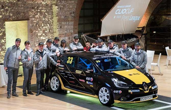 Clio Cup Italia 2018, il via dal Mugello