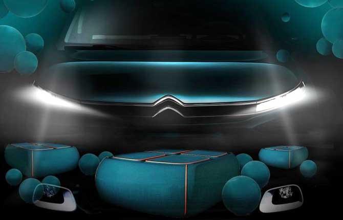 Da Citroën e Bertone Design la seduta del futuro