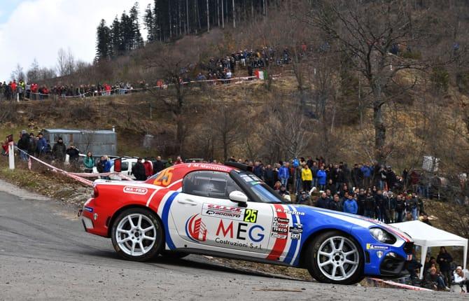 Rallye Tour de Corse, Abarth protagonista