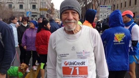 """Edoardo, non è mai troppo tardi: """"A 60 anni ho capito che da grande avrei fatto il maratoneta"""""""