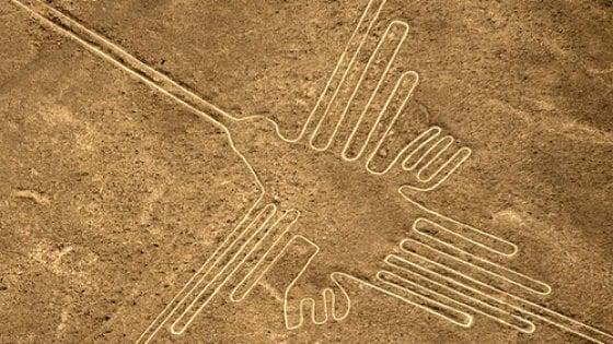 I droni fanno scoprire 50 nuovi disegni simili a quelli di Nazca