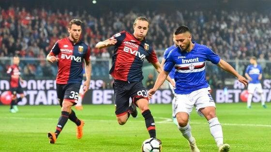Sampdoria-Genoa 0-0: un derby con poche emozioni