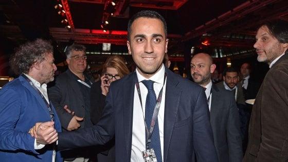 """Di Maio a Salvini: """"Si decida, da Arcore non può partire il cambiamento"""""""