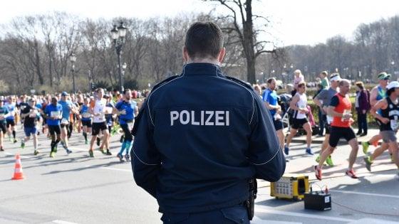 Sventato un attacco alla mezza maratona di Berlino, 4 arresti