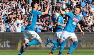 Napoli-Chievo 2-1, Milik e Diawara firmano la rimonta azzurra