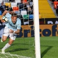 Udinese-Lazio 1-2: i soliti Luis Alberto e Immobile, biancocelesti al terzo posto
