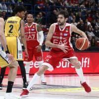 Basket, serie A: Milano sull'ottovolante, ma Venezia e Avellino non perdono terreno