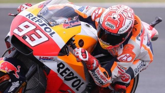 "MotoGp, Marquez: ""Mai andato dritto contro un pilota"""